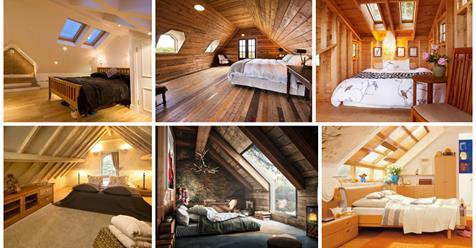 12 Modern Master Attic Bedroom