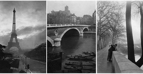 34 Vintage Photographs Captured Street Scenes of Paris in the 1920s