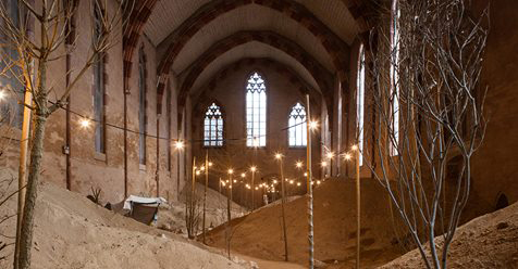 This French Church Has Been Recreated into the 'Garden of Whispers '