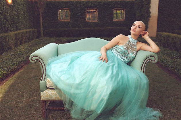 Inspiring Teen Battling Cancer Radiates in Gorgeous Photo Shoot Without Her Wig