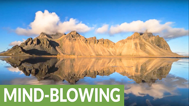 Icelandic Landscape Footage Will Take Your Breath Away