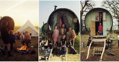 Wonderful Pictures Give an Extraordinary Glimpse Into Daily Life of the Modern Gypsies in 1986