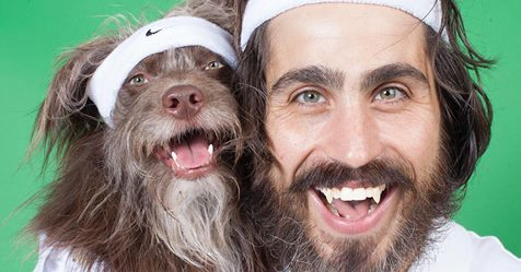 Guy and His Beloved Dog Look Alike, So They Dress in Adorable Matching Outfits