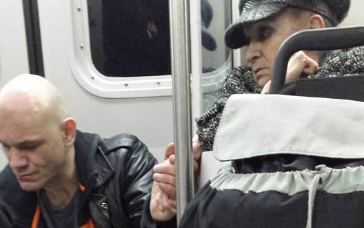 Compassionate 70-Year-Old Woman Calms Aggressive Stranger by Holding His Hand