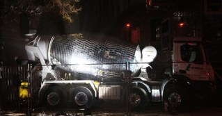 Disco Ball Cement Truck Transforms French Streetcorner Into a Nightclub