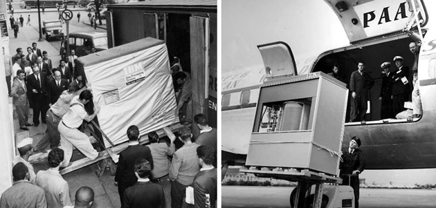 Here's How Hard It Was to Move a 5MB IBM Hard Drive in 1956 (Note: Required a Forklift)