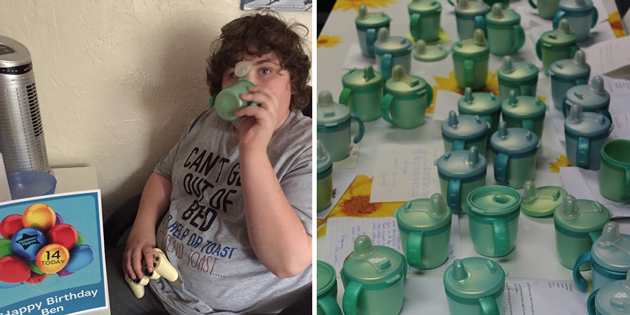 When a Father Couldn't Find a Discontinued Cup for his Autistic Son the Internet Stepped in to Save the Day