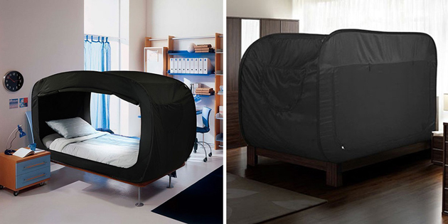 """Privacy Bed"" That Converts Into A Fort Is A Dream Come True For People With Anxiety"