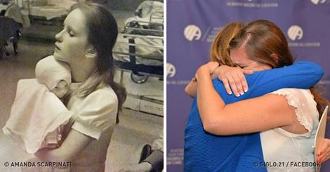 This Woman Found the Nurse Who Saved Her Life 38 Years Ago