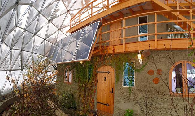 Solar Geodesic Dome