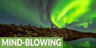 Time lapse captures magnificence of Northern Lights. Incredible!