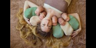 Ukrainian Mum Reveals Her Quintuplets In Heart-Warming Photo Series