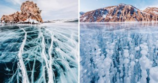 Photographer Kristina Makeeva Captures the Otherworldly, Frozen Beauty of the Earth's Oldest & Deepest Lake