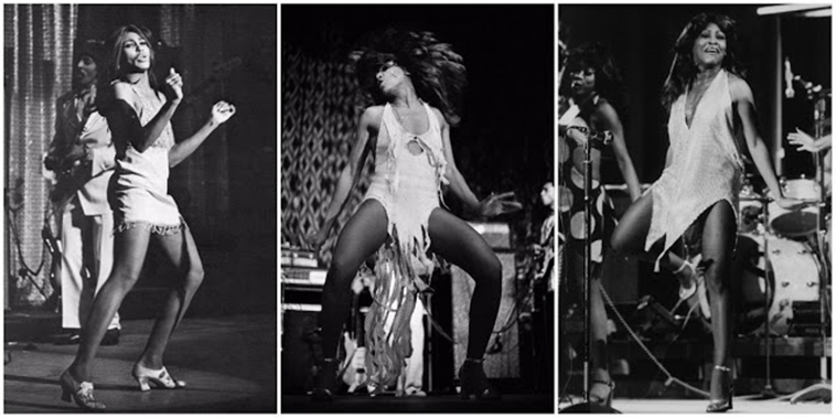 Before Beyonce We Had Tina 20 Stunning Black and White Photographs of Tina Turner on Stage