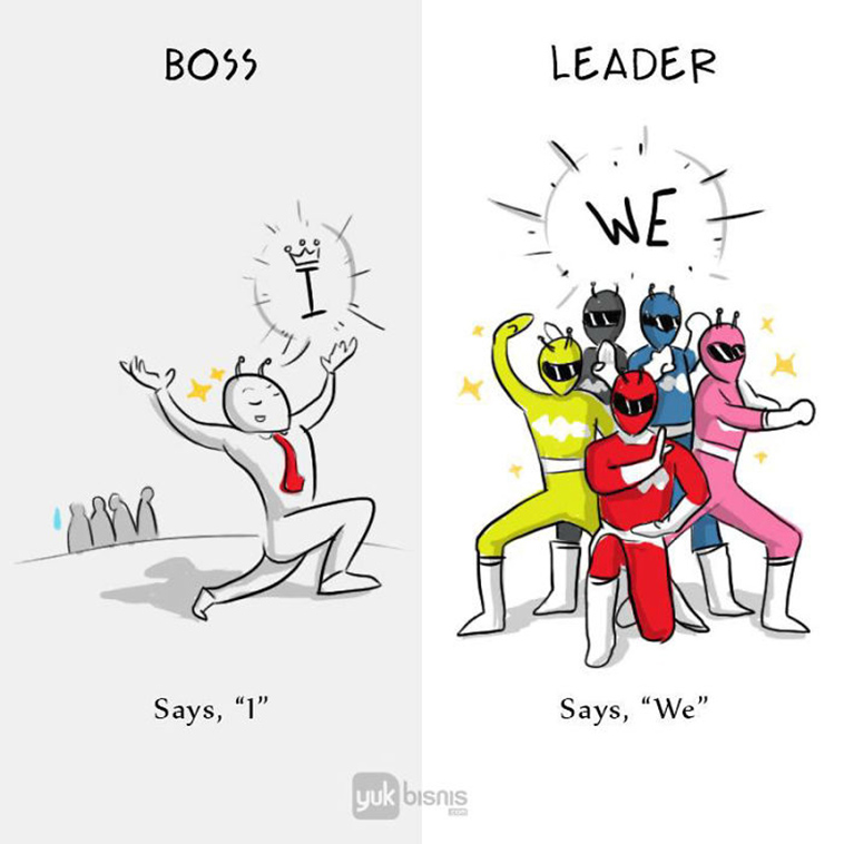 cartoons-differences-boss-vs-leader