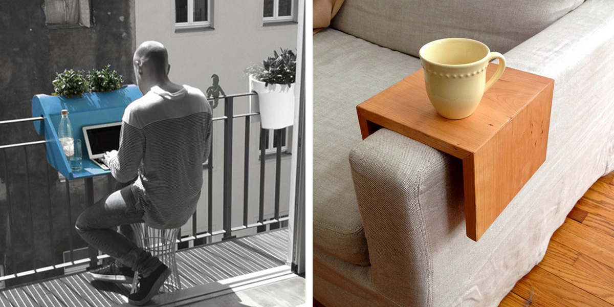 20 Design Hacks For Your Tiny Apartment