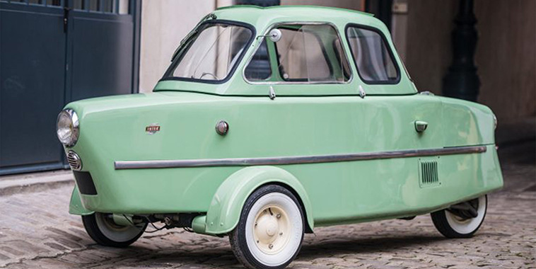 Inter berline microcar cover