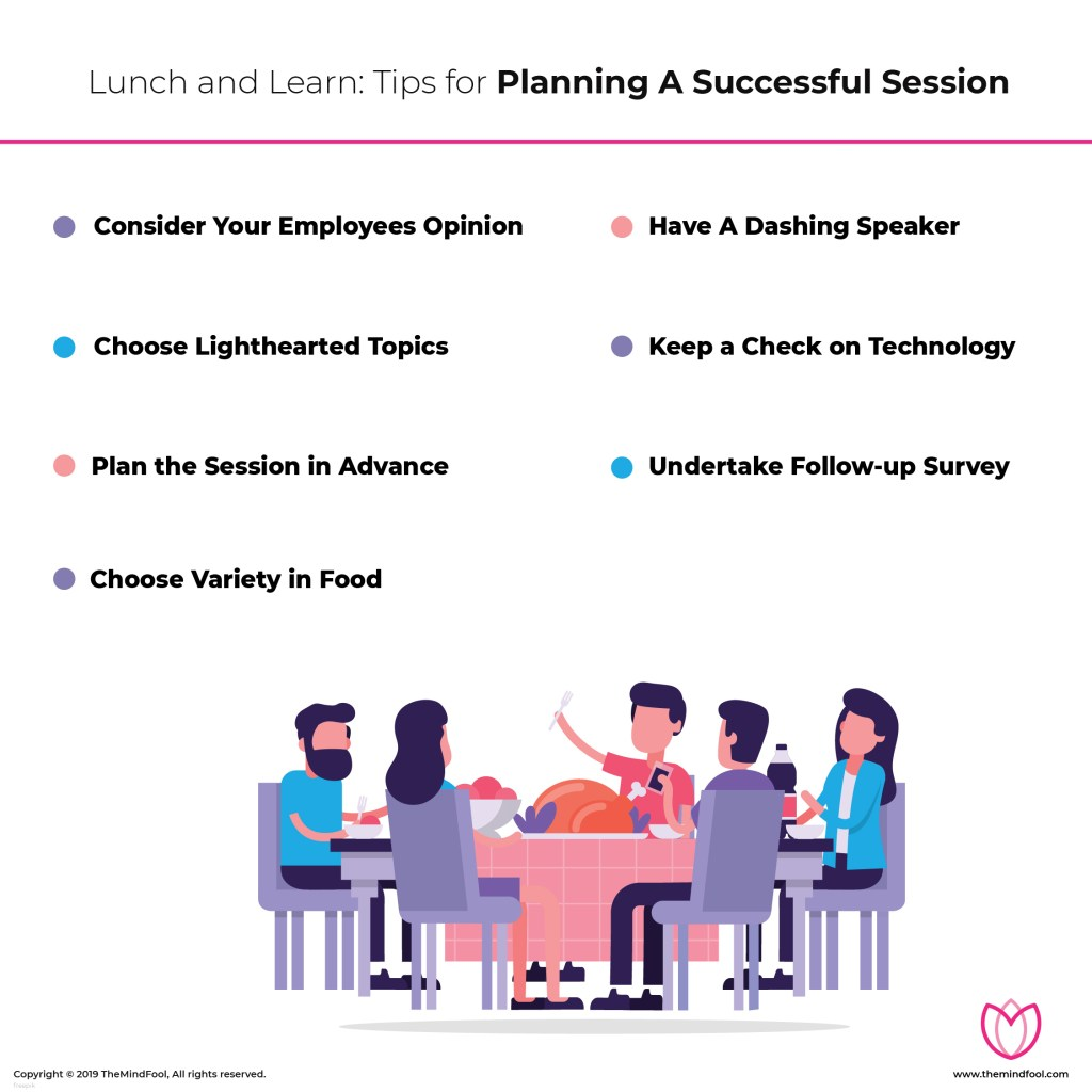 Tips for Lunch and Learn