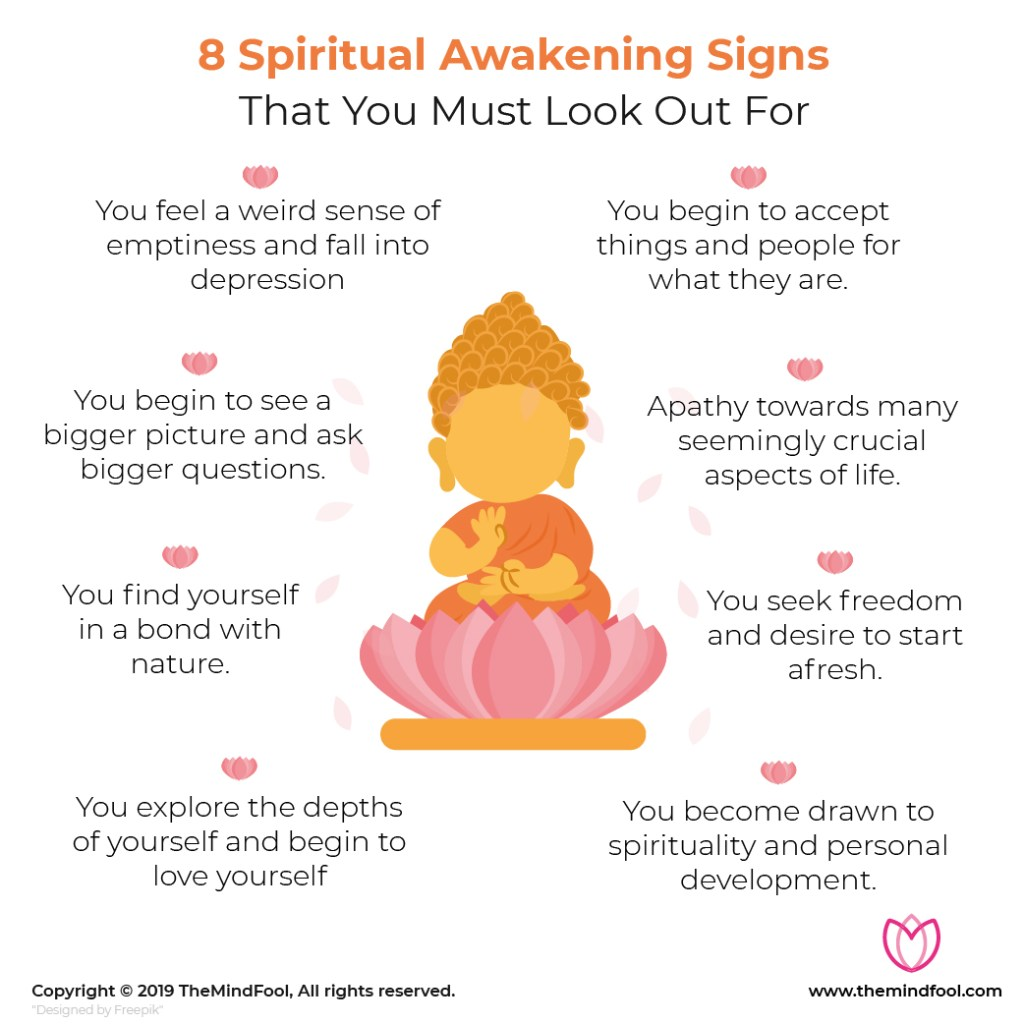 8 Spiritual Awakening Signs That You Must Look Out For
