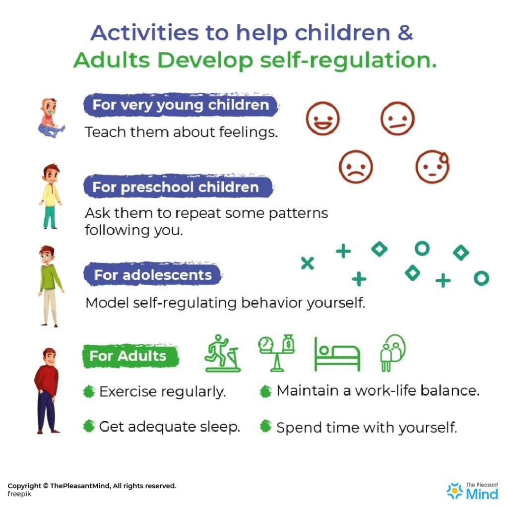 Activities to help children (and adults) develop self-regulation