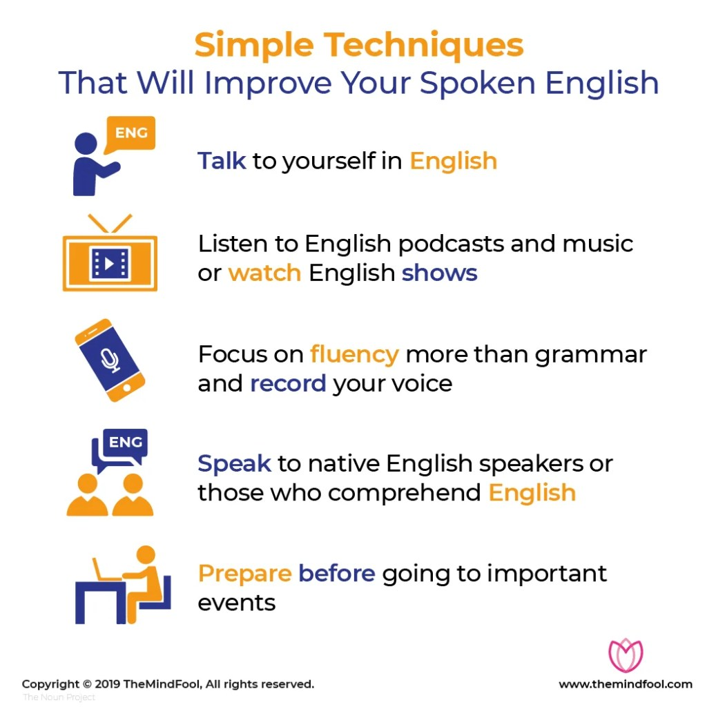 Simple Techniques That Will Improve Your Spoken English