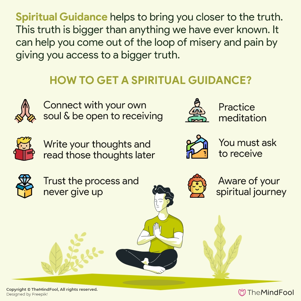 How to receive a spiritual guide?