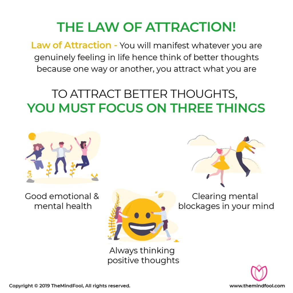 Law of attraction - You attract what you are!