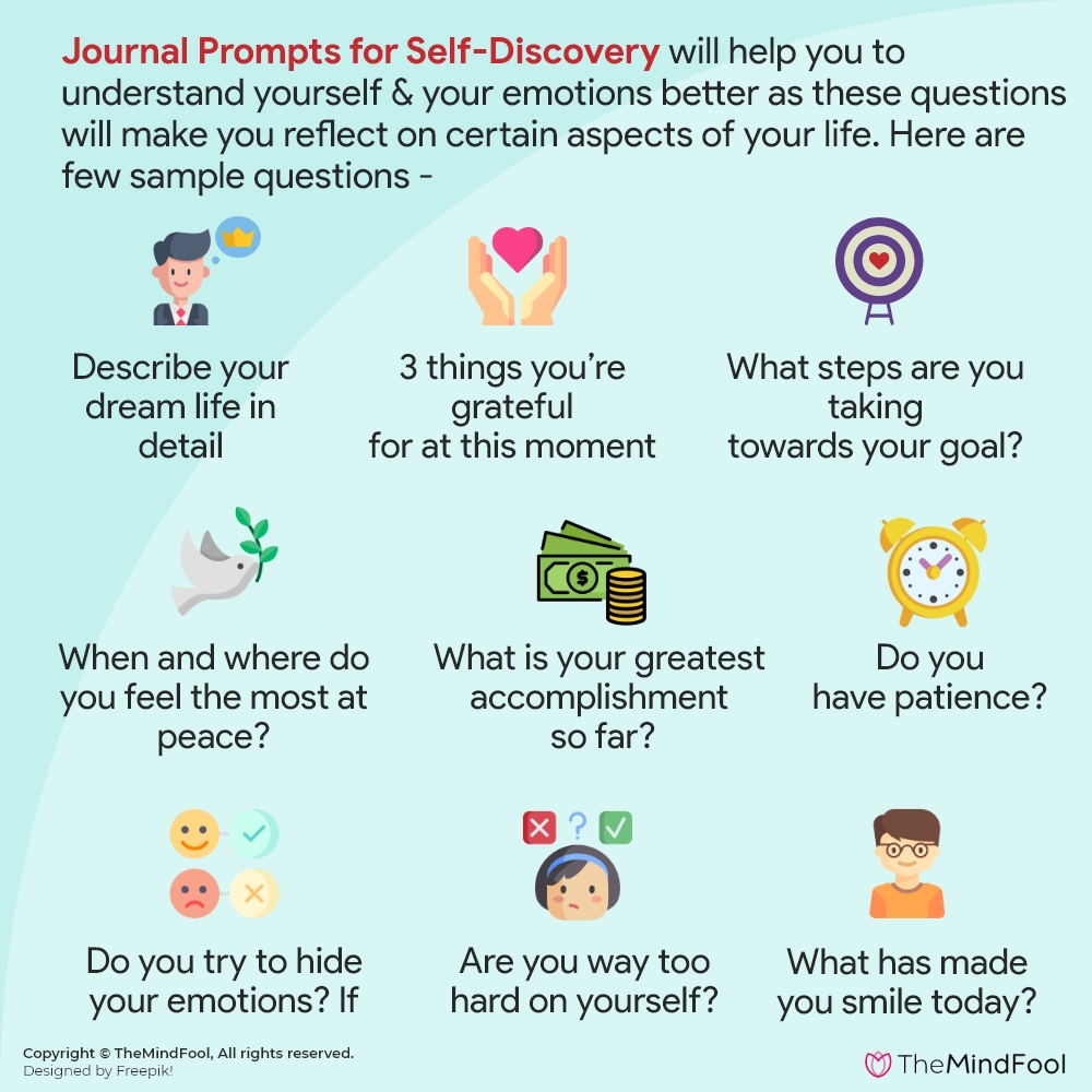 102 Journal Prompts for Self Discovery