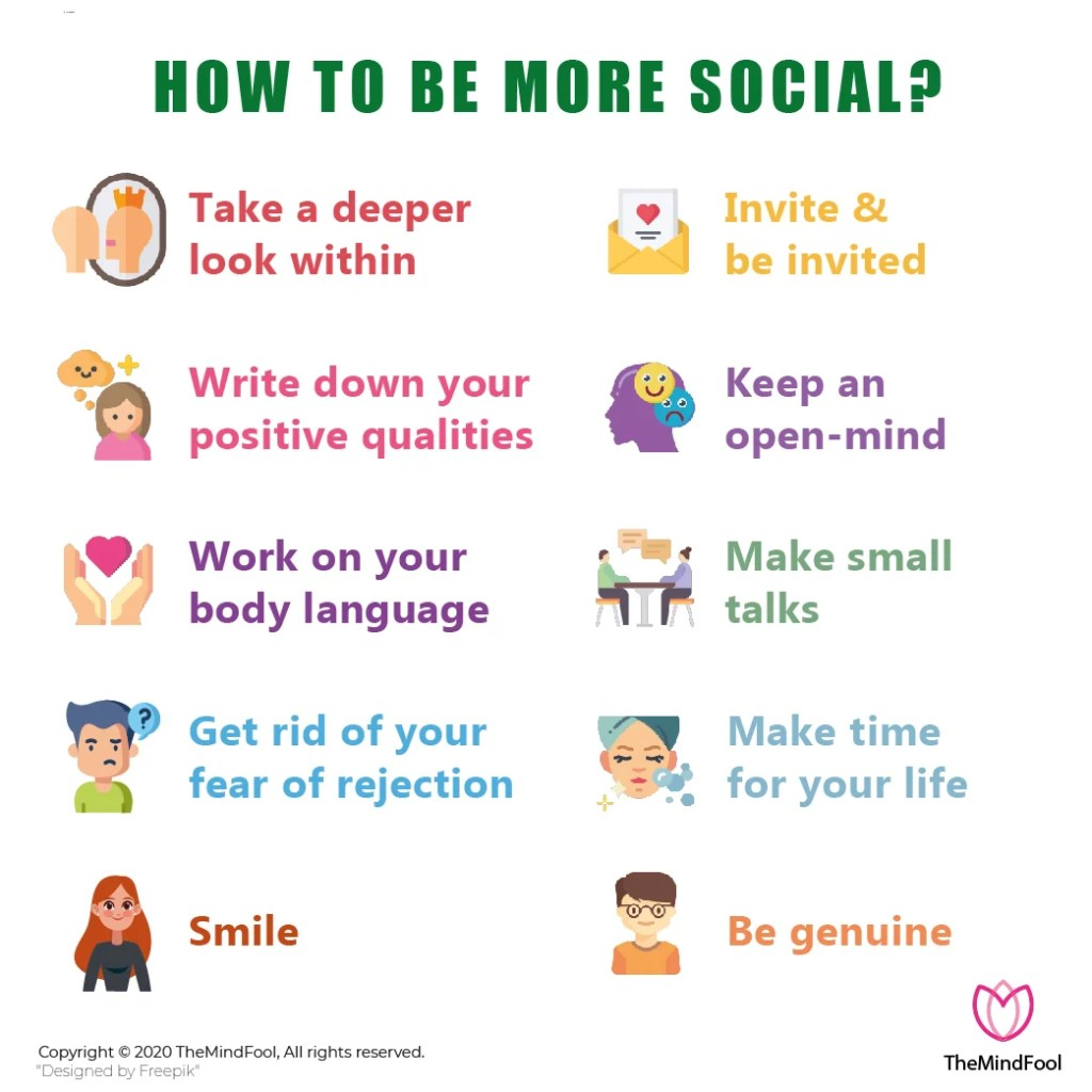The Ultimate Guide on How to Be More Social