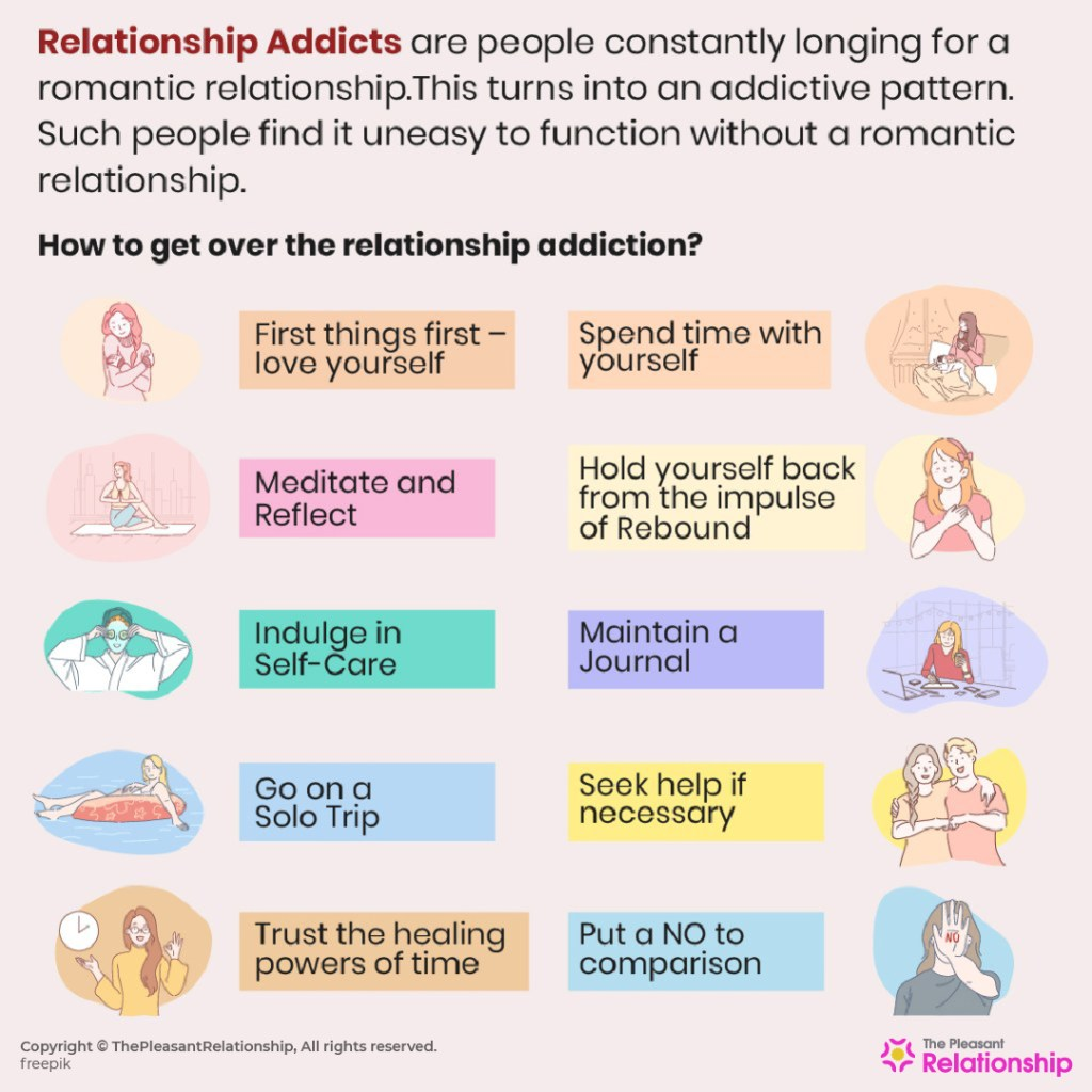 How to get over Relationship Addiction?