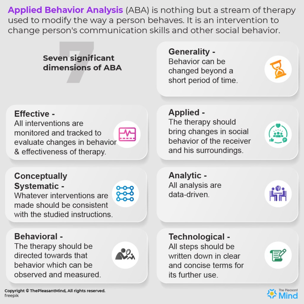 7 Dimensions of Applied Behavior Analysis