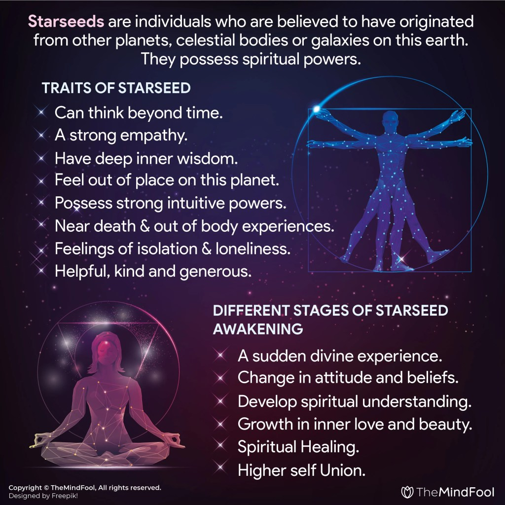 Starseed – A Divine Spiritual Being