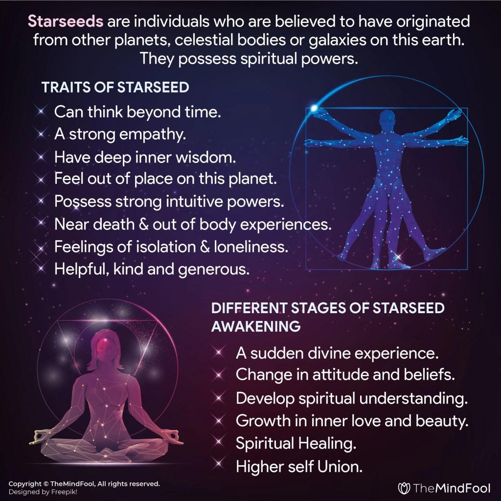 Starseed – A Divine Spiritual Being