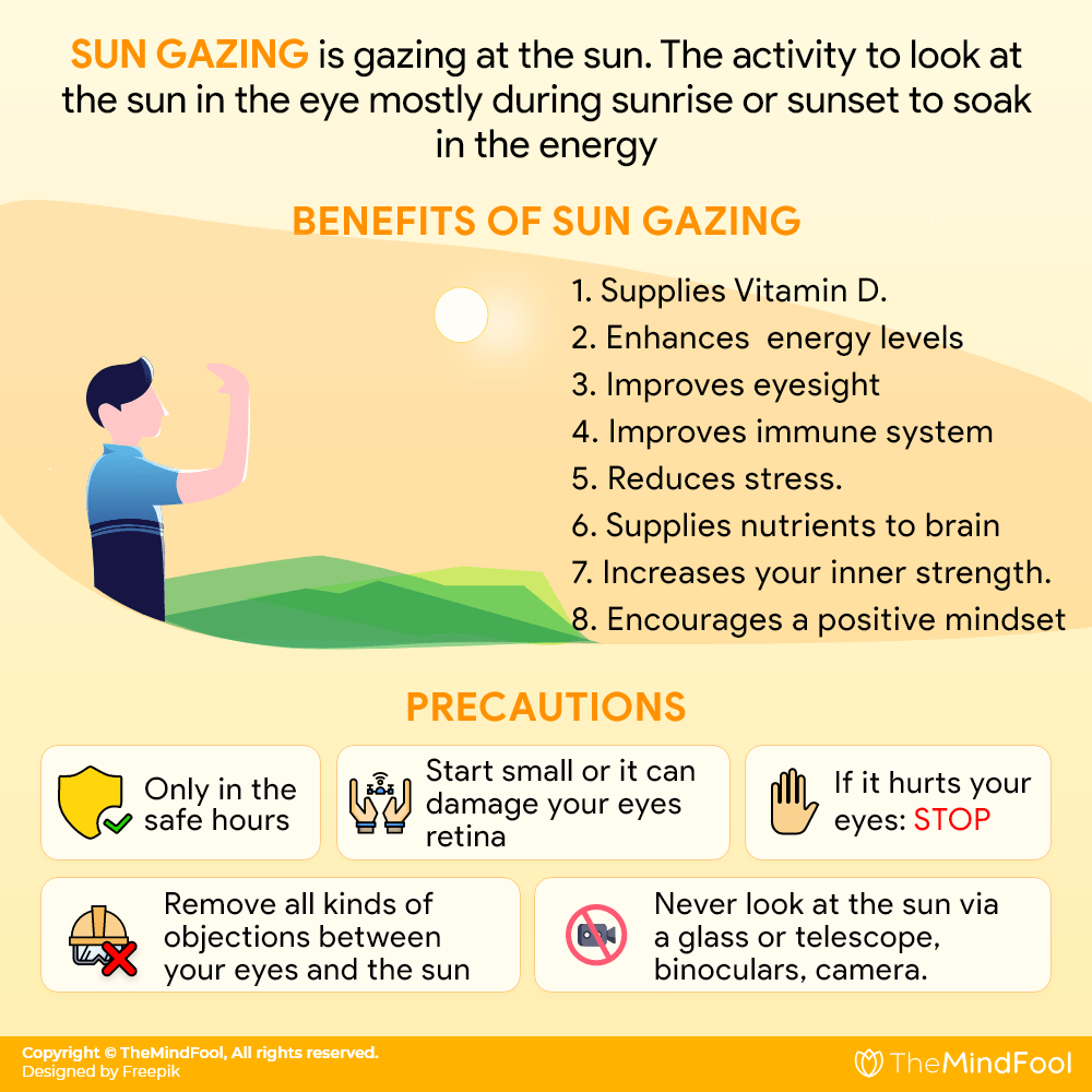 Did You Know These Sun Gazing Benefits?