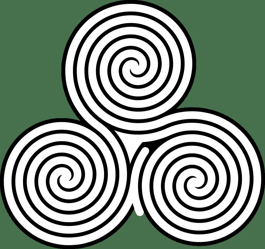 #28 Spiritual Symbol: The triple Spiral