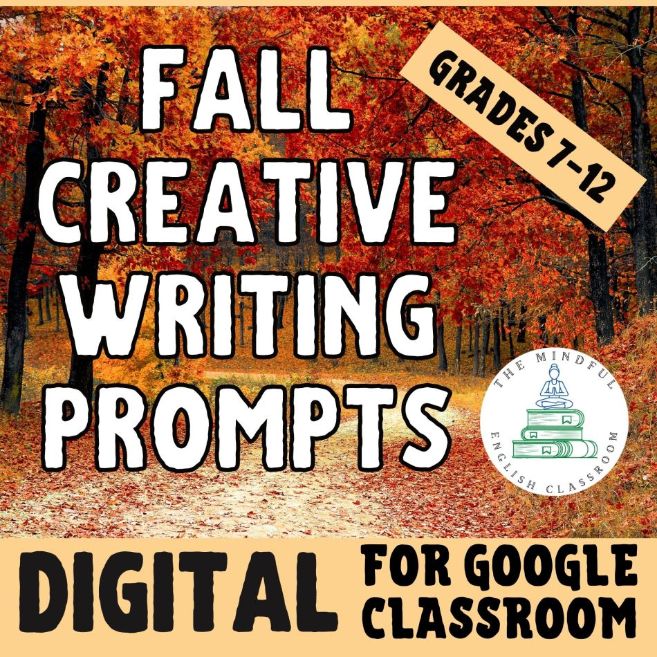 Fall Writing Prompts for English Class