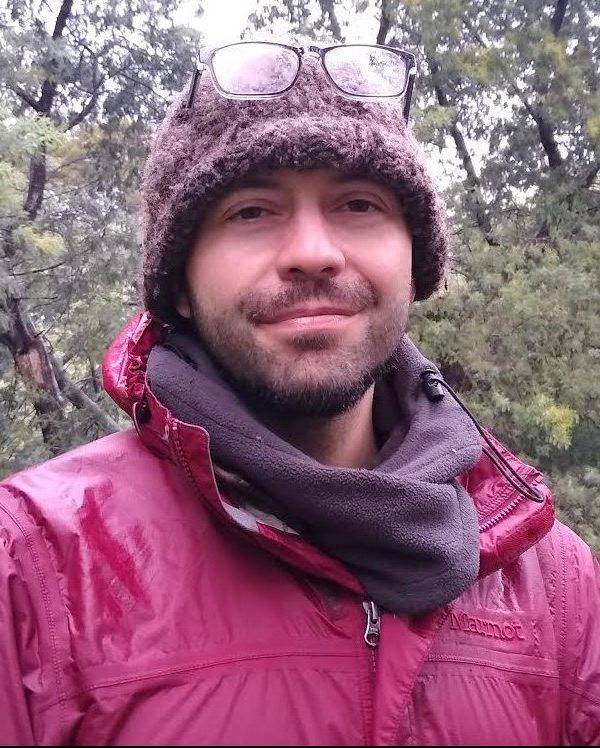 Moises Forest Bathing in Chile