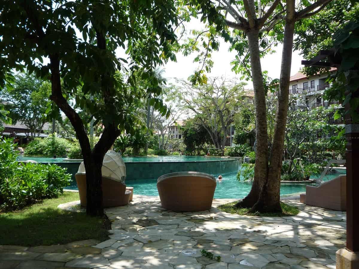 Villa de vacaciones de lujo en Bali, Indonesia - Quítese los zapatos