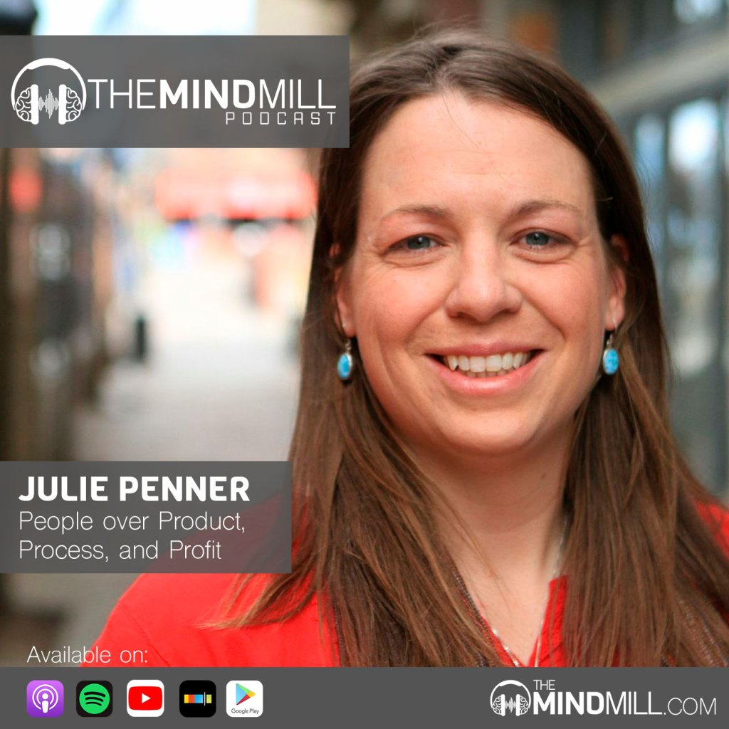Julie Penner on the MindMill Podcast