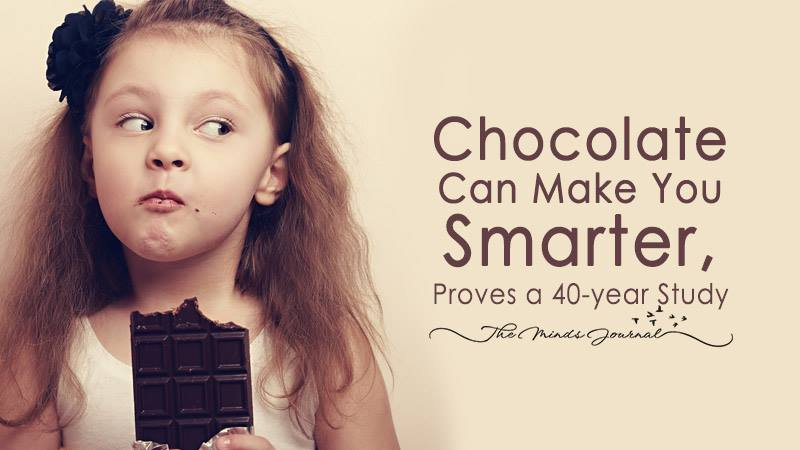 Chocolate Can Make You Smarter, Proves A 40year Study