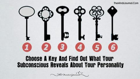 Choose A Key And See What Your Subconscious Reveals About Your Personality