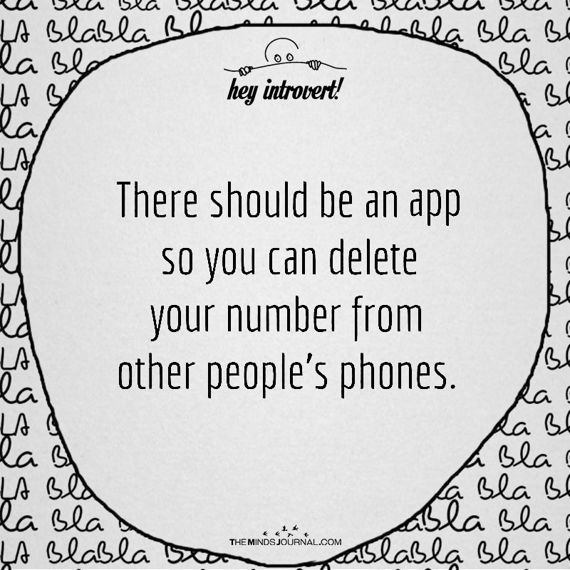There Should Be An App So You Can Delete Your Number From