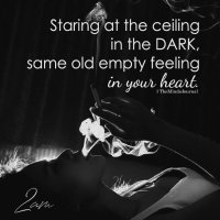 Staring At The Ceiling In The Dark - The Minds Journal