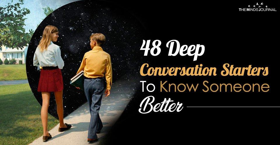 48 deep conversation starters