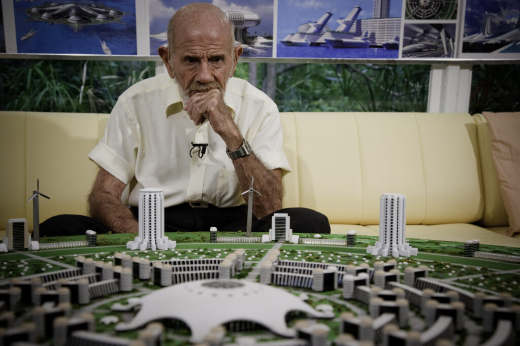 Jacque Fresco, founder of The Venus Project.