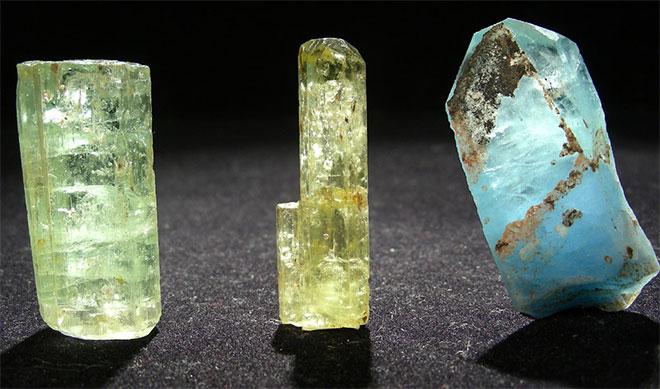 Minerali Berylla.