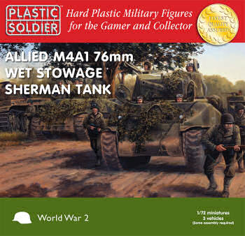 1:72nd scale Sherman