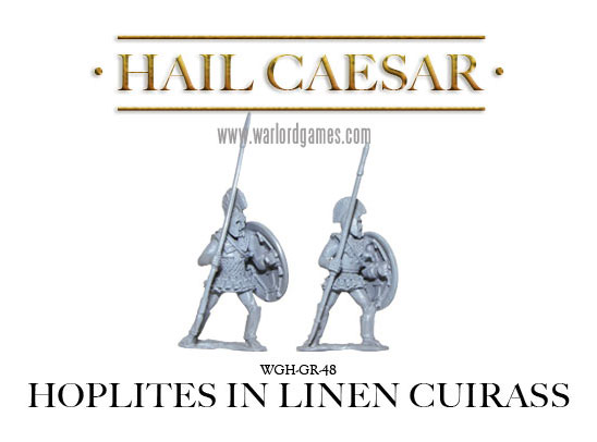 Hoplites in linen cuirass