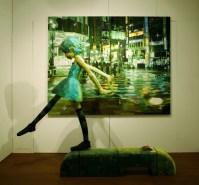 ''Airplane'', 2007, panting, polystyrene based sculpture