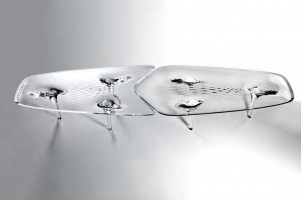 FURNITURE - Liquid Glacial Table Designed by Zaha Hadid